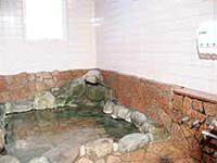 温泉の岩風呂
