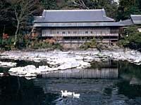 楽寿園(湧水時の写真です)
