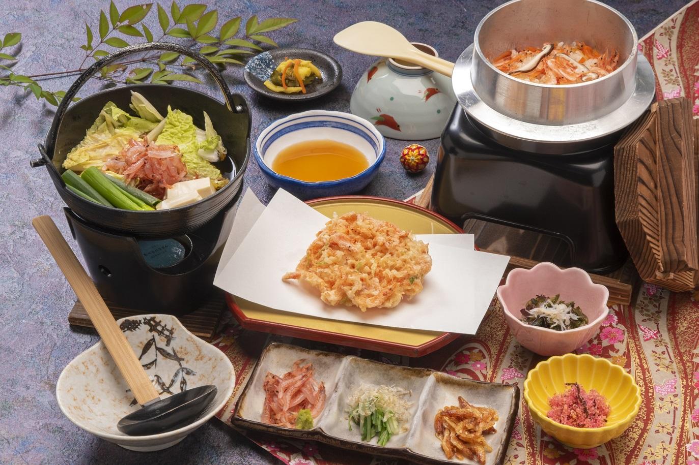 桜えびを使った漁師鍋料理