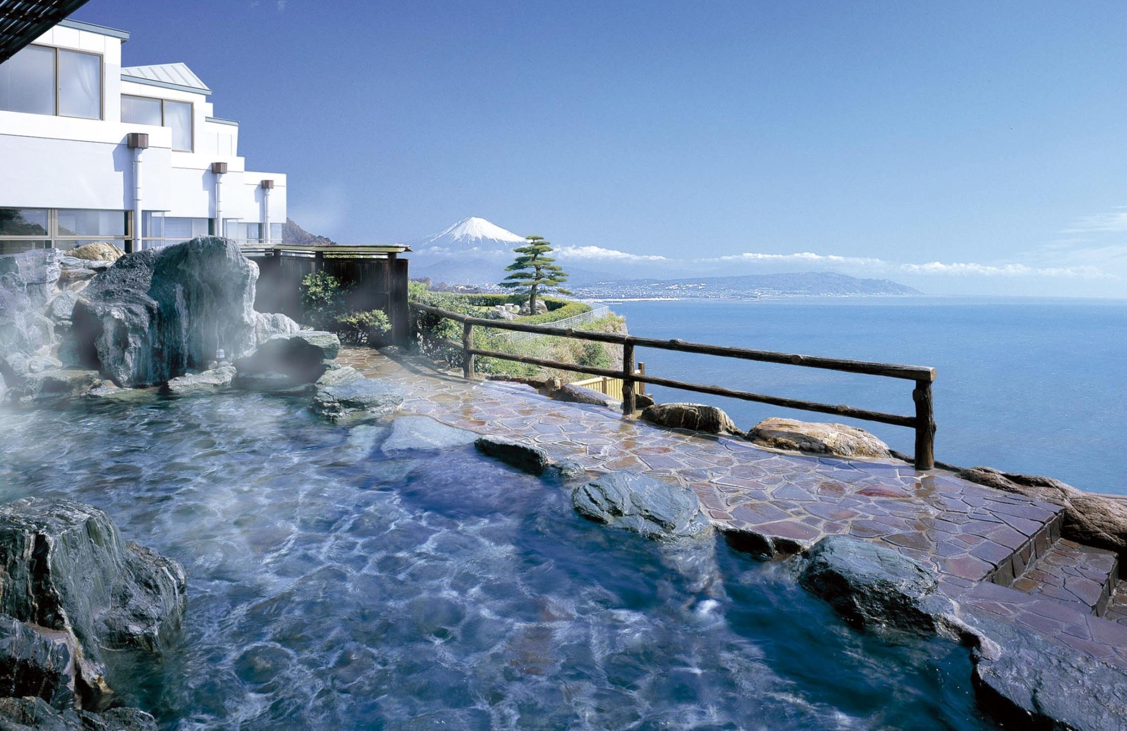 焼津黒潮温泉の絶景露天風呂