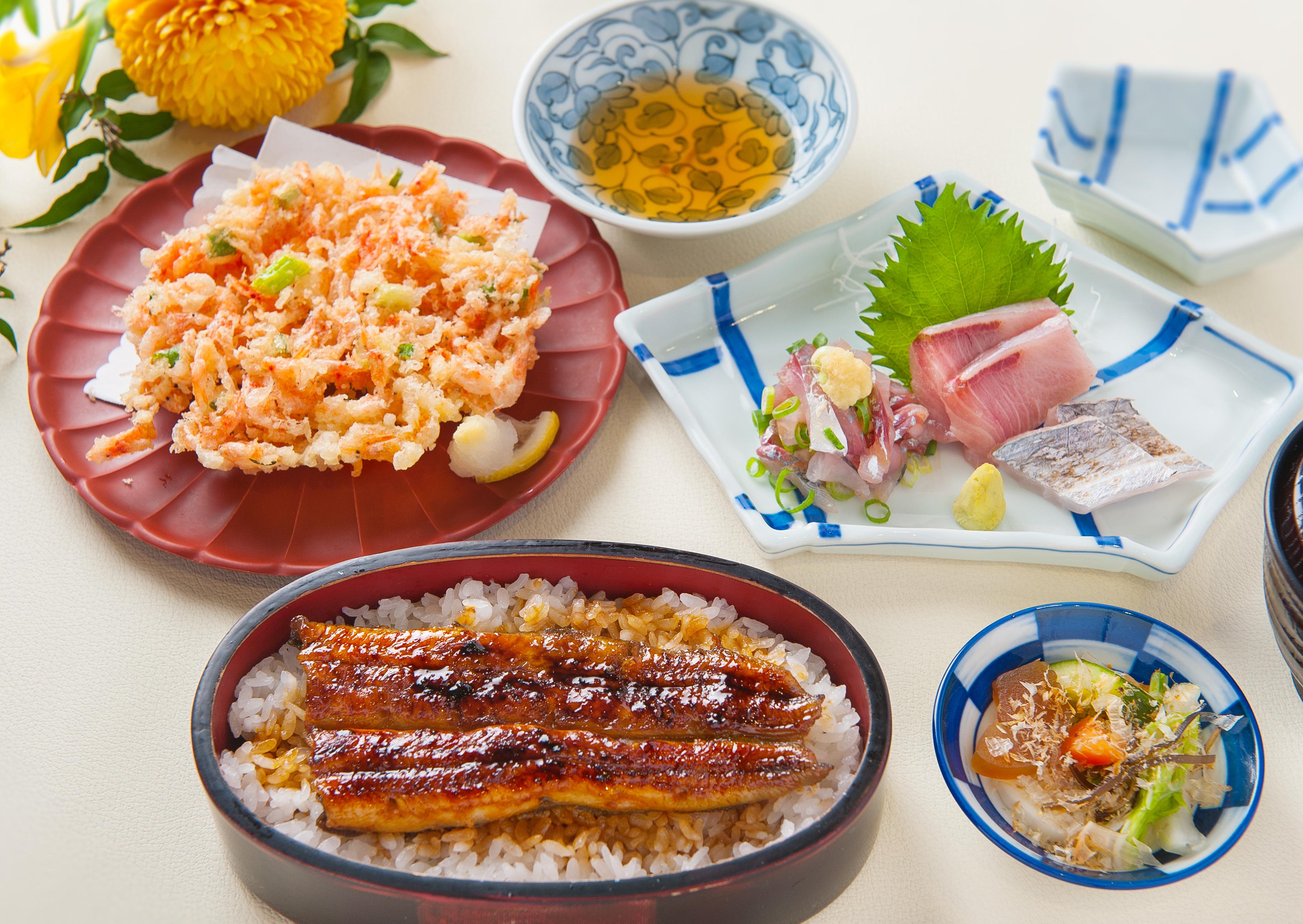桜えびのかき揚げ定食 1,360円