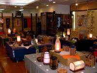 地場産業や郷土工芸品を紹介する特別展示コーナー
