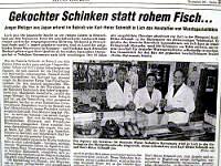 1996年ドイツの片田舎マイスター、シュミット氏のもとで修行中