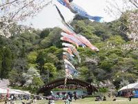 4月の桜の時期には桜まつりが開催されます。平成23年度は中止となりました。