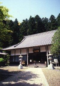 全国に3,400余りの末寺をもつ曹洞宗の名刹「橘谷山大洞院」本堂