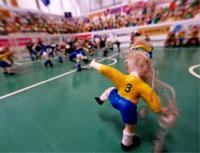 龍ちゃんプロデュース、カッパサッカースタジアムです。アートプロデューサーとしての龍ちゃんの手腕にも注目して下さい。