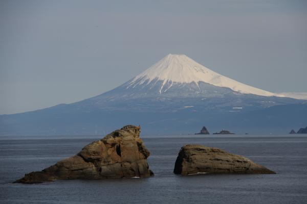 駿河湾富嶽三十六景-第ニ景-雲見海岸