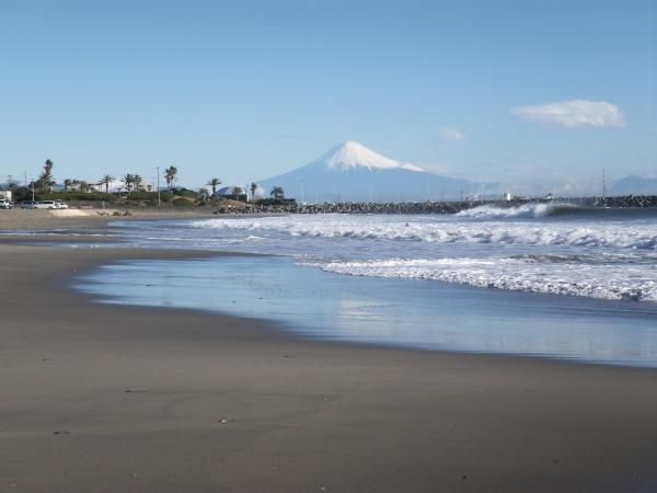 駿河湾富嶽三十六景-第三十二景-牧之原市さがらサンビーチ