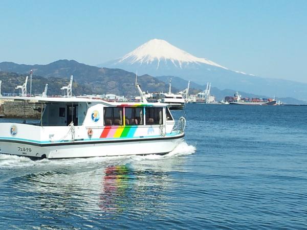 駿河湾富嶽三十六景-第二十四景-清水港水上バス