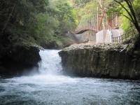 蛇滝と河津踊子滝見橋