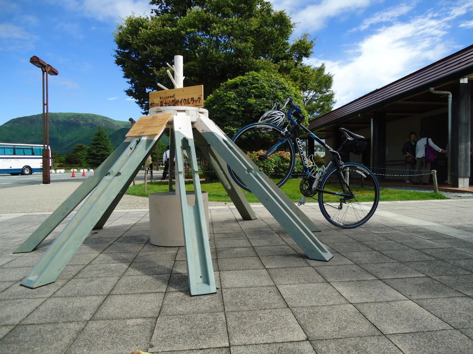 富士山型サイクルラック