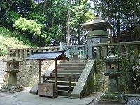 徳川家康公が祀られる神廟