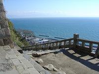 晴天の日は伊豆半島から御前崎までを一望できます。