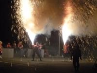 雄大な手筒花火の饗宴