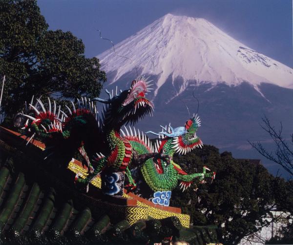 第5回富士山百景写真コンテストエリア賞「竜神と富士」
