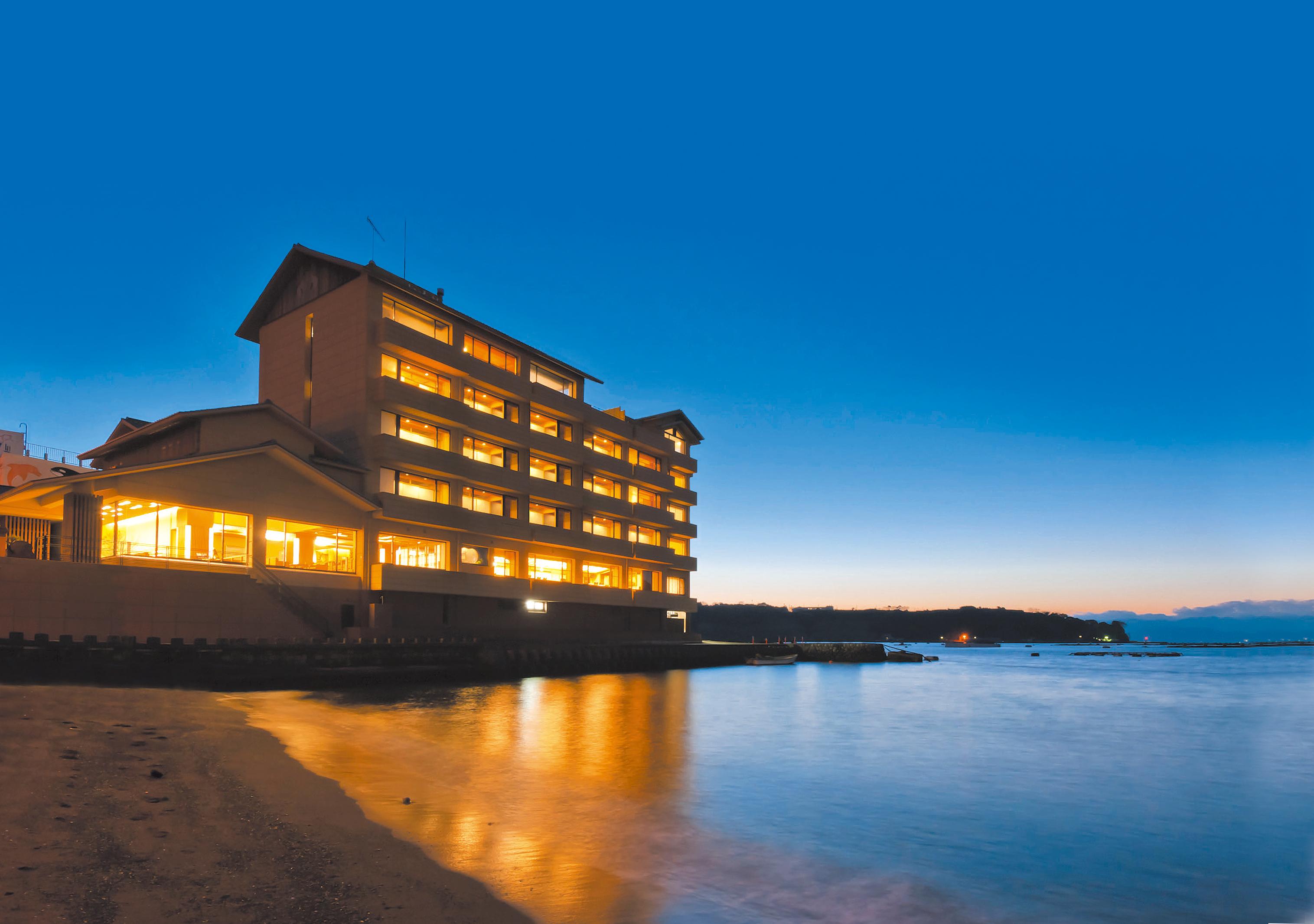 海と富士、絶景の美食宿 伊豆 三津浜 松濤館