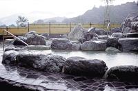 川根の自然に抱かれる露天風呂