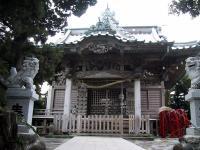 毎年4月4日に大瀬まつりが行われる大瀬神社