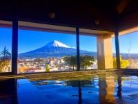 富士山一望の展望大浴場
