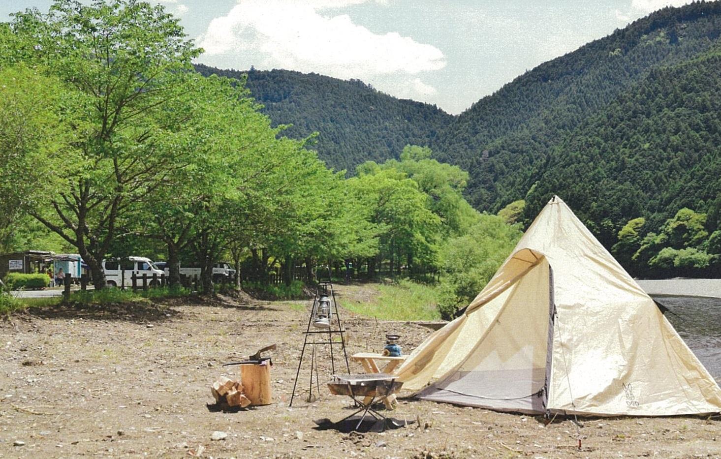 小川の里オートキャンプ場①