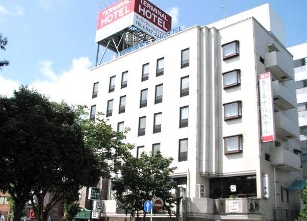 ホテル前景