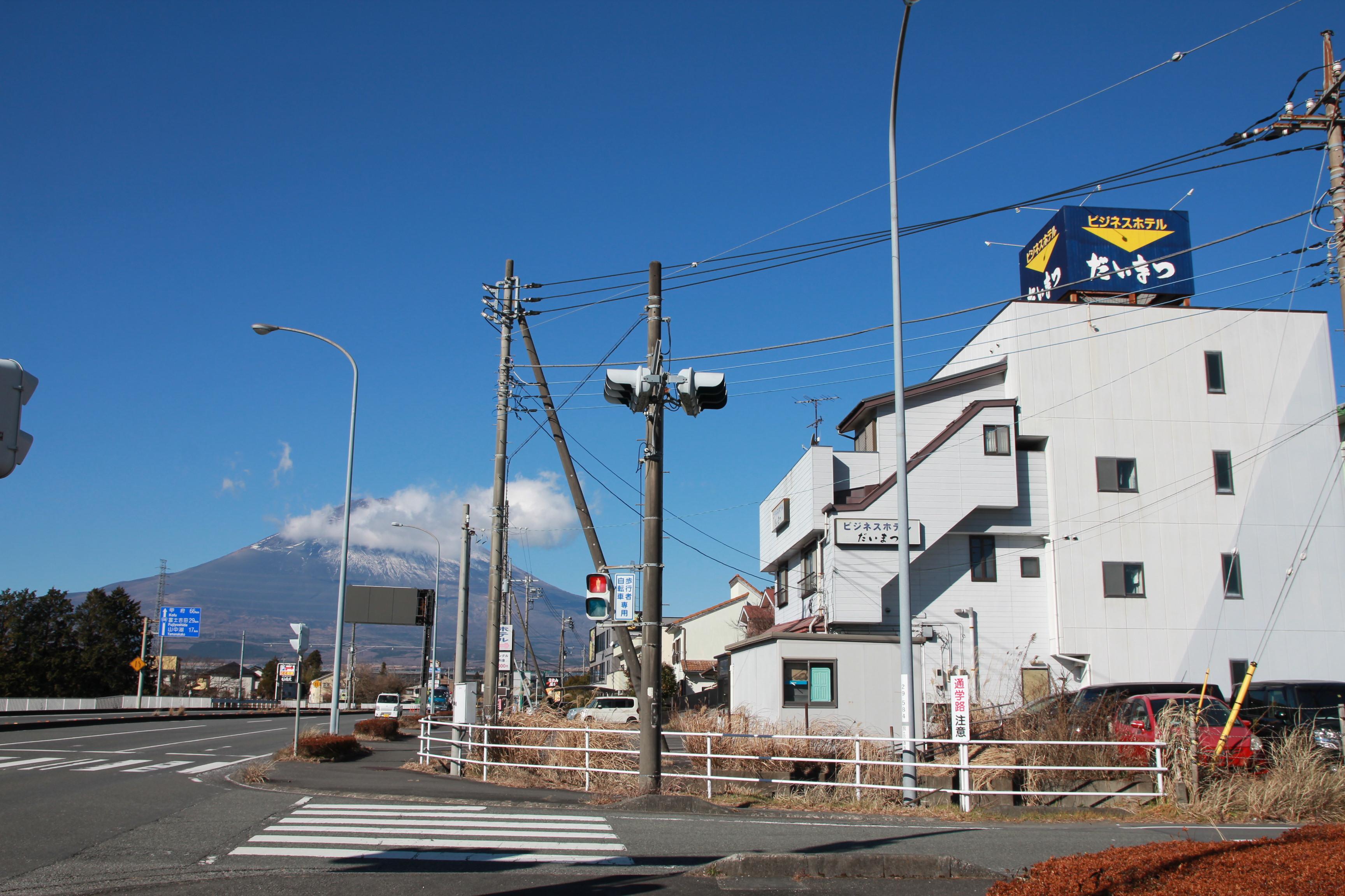 3階、4階のお部屋からは雄大な富士山が望めます。
