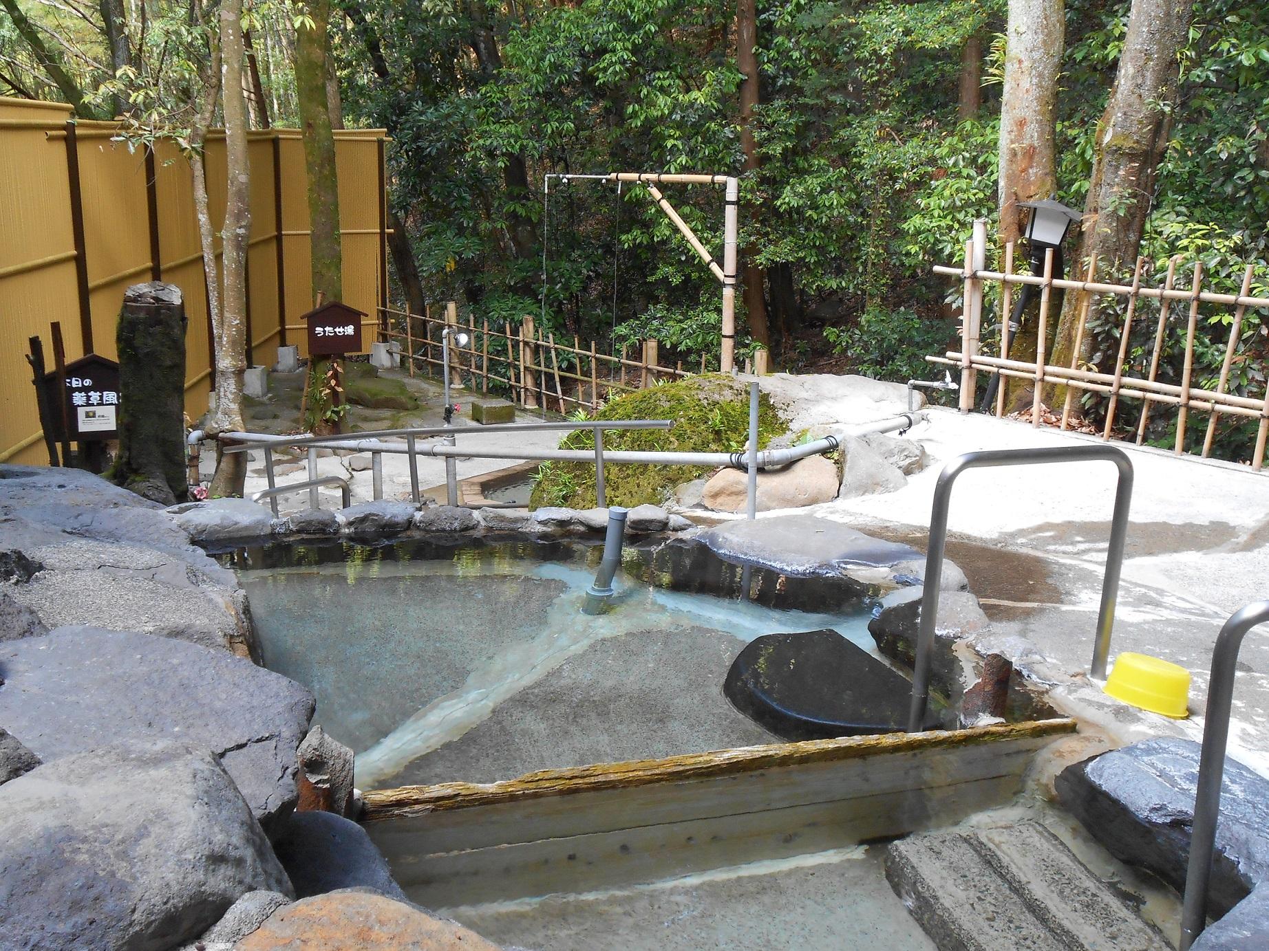 浴槽ごとにお湯の温度が異なりお好みの温度を楽しめます。