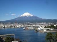 展望施設からの富士山