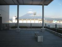 屋上テラスからの富士山