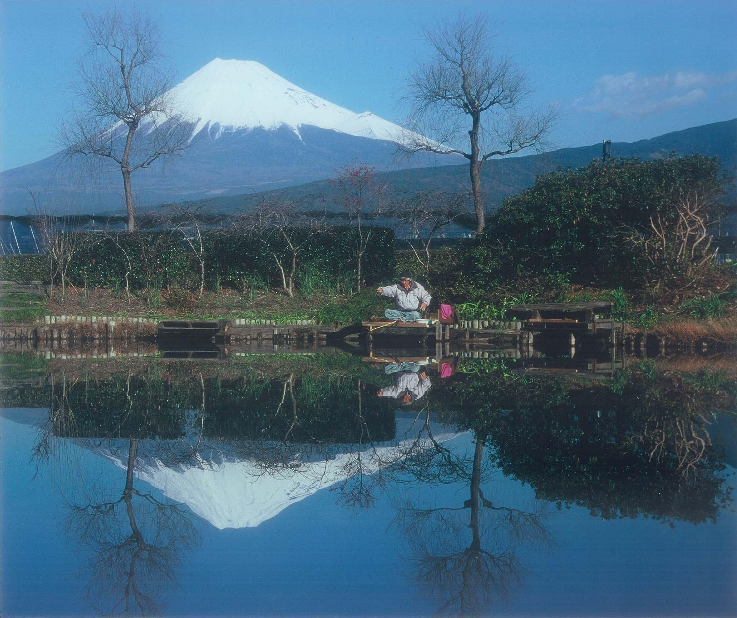 第03回富士山百景写真コンテスト エリア賞 「一人静かに」